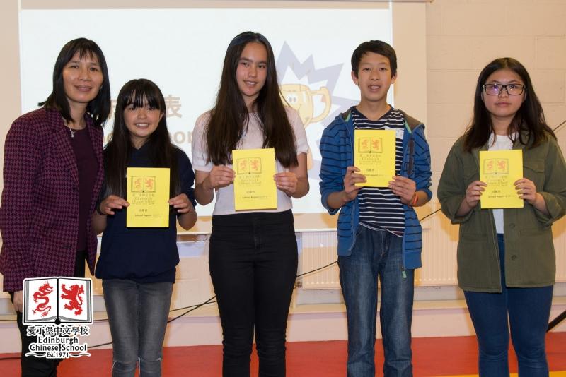 Class report presentation