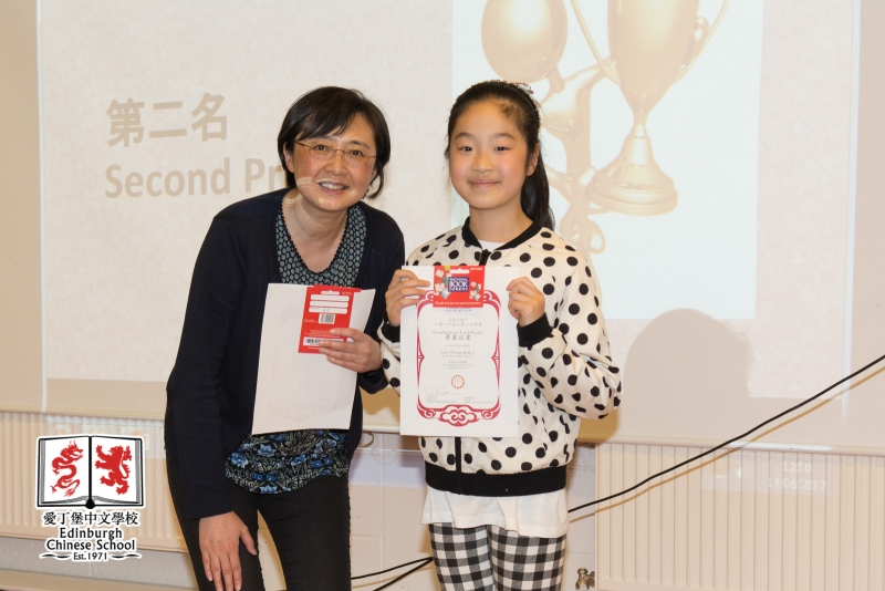 Second Prize Winners